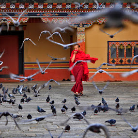 Thimphu by Felix Hug - People Street & Candids