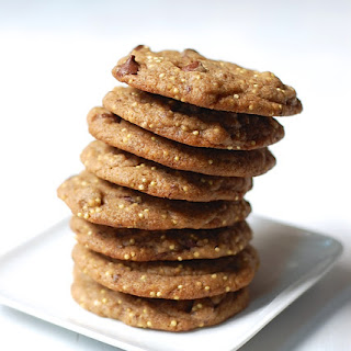 Vegan Chocolate Chip Cookies with Millet