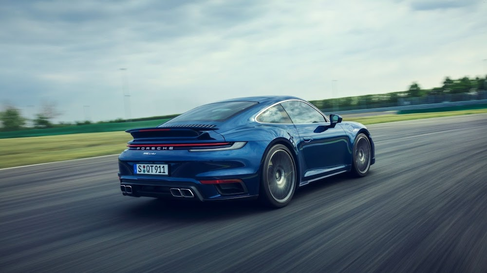 Porsche launches its new 427kW 911 Turbo Coupe and Cabriolet - TimesLIVE