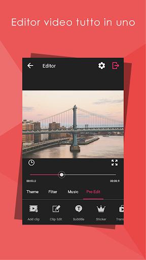 Video Editor HD, tutto in uno screenshot 1