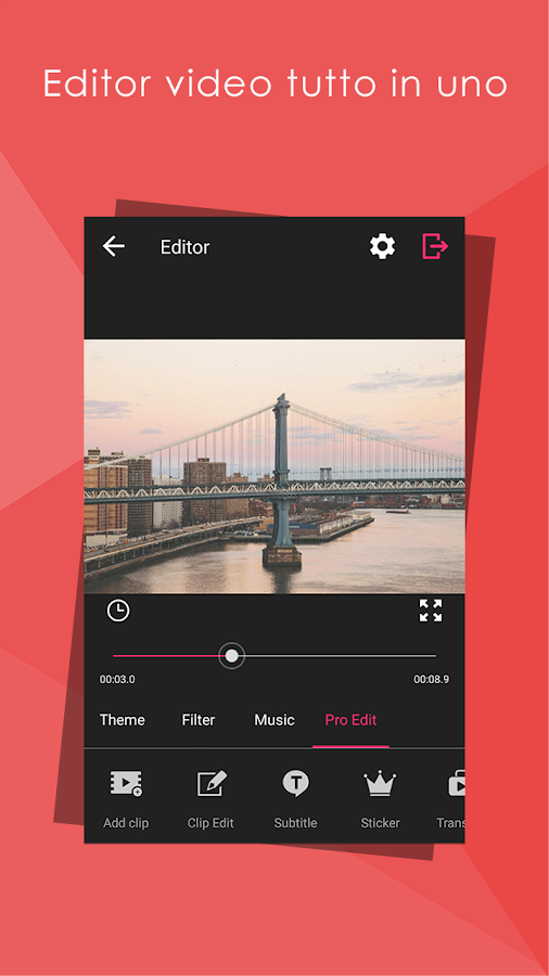 Video Editor HD, tutto in uno- screenshot