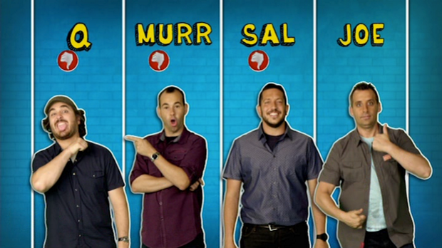 Impractical Jokers, The Professors, The Professors Of Pranks, American Hidden Camera, Joseph, Joe, Gatto, James, Murr, Murray, Brian, Q, Quinn, Salvator, Sal, Vulcano