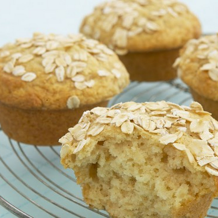 Honey And Oat Muffins