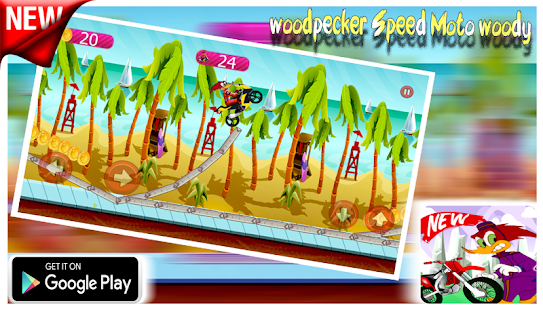 woodpecker Speed Moto woody - náhled