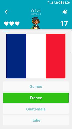 Drapeaux et Capitales du Monde Quiz  captures d'u00e9cran 5