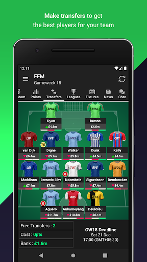 Fantasy Football Manager for Premier League (FPL) 8.4.1 screenshots 2
