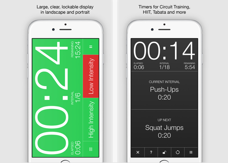 Seconds Pro Interval Timer