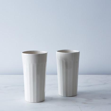 Tall Ceramic Tumblers