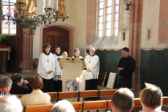 Photo: Kiedrich - Kapellet hvor vi hører nogle fra Kiedricher Chorbuben