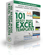 Deals on 101 Ready Made Excel Templates