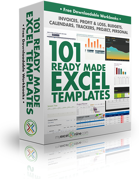 Ready to get your FREE Excel Templates 2020? 101 Ready Made Excel Templates