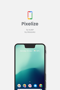 Pixelize for Kustom KLWP Screenshot