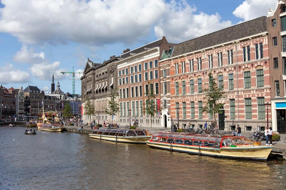 Amsterdam, rejs po kanałach