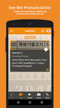 Translator, Dictionary - Waygo