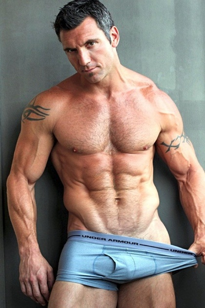 Muscle Daddy and Hot Hairy Hunks 18 - Guys U Wanna be in Bed with