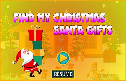 Foto do Best Escape 105 Find My Christmas Santa Gifts Game