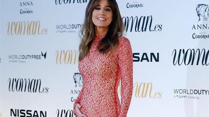Isabel Jiménez, durante la gala de los premios \'Woman\'.