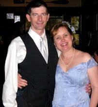 Photo: Steve and Lenna: a very happy couple! June 11, 2005