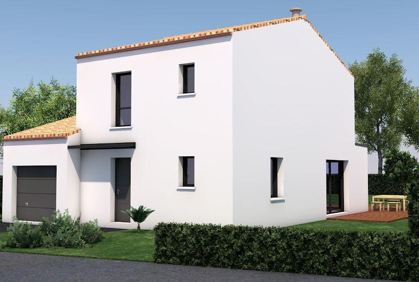 Vente Terrain + Maison - Terrain : 1000m² - Maison : 119m² à Saint-Mars-de-Coutais (44680)
