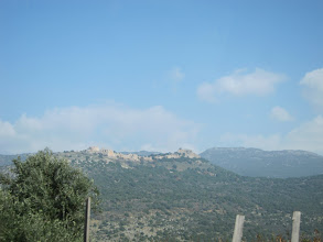 Photo: Nimrod fortress in the Golan Heights