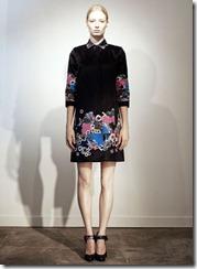 Erdem Pre-Spring 2011 Printed Dresses Look 1