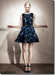 Erdem Pre-Spring 2011 Printed Dresses Look 8