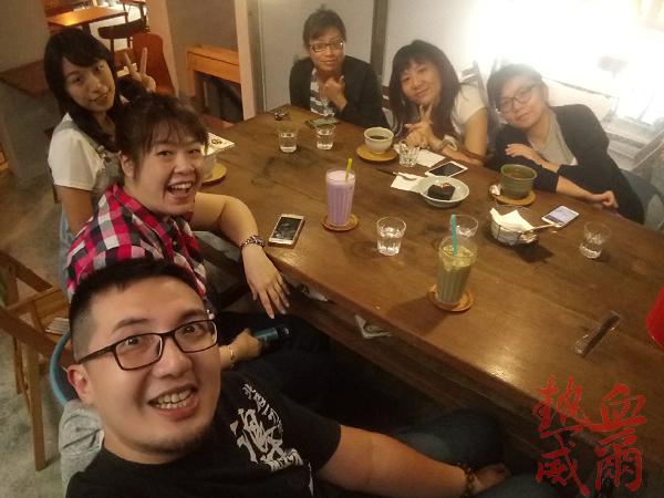 下午茶:卡那達咖啡店(韓國人開的咖啡店)