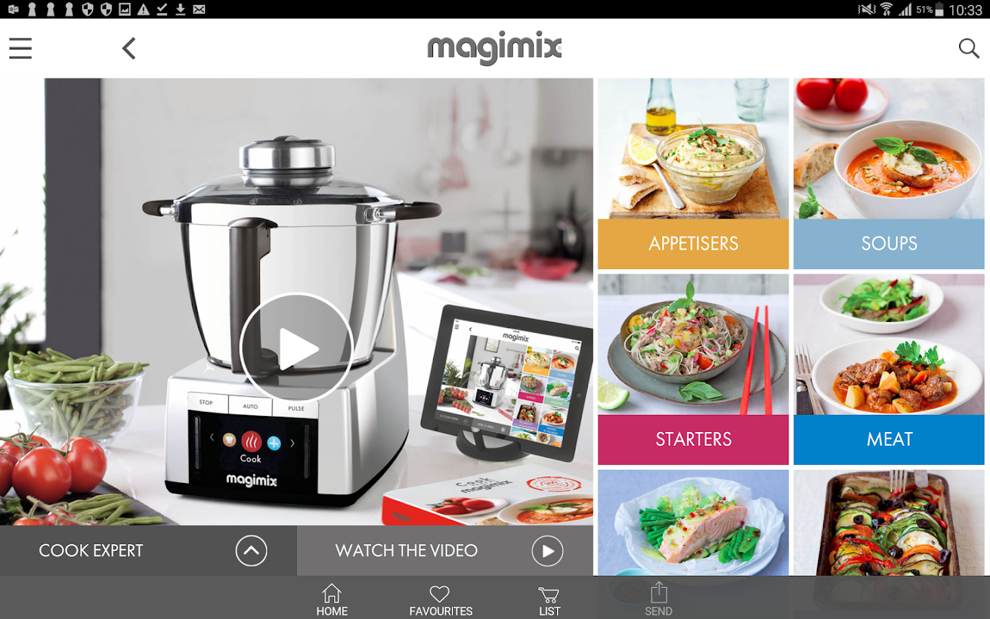 cook expert magimix android apps on google play. Black Bedroom Furniture Sets. Home Design Ideas