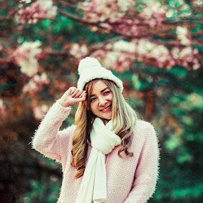 Annyeonghaseyo  by Momo Momo - Digital Art People ( model portraitpage portrait woman beauty portraitmood nature film flower )