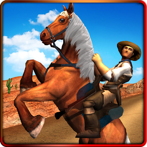 Texas Wild Horse Race 3D Icon do Jogo