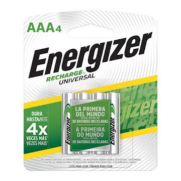 Pila ENERGIZER Recharge   4X AAA4 x4und