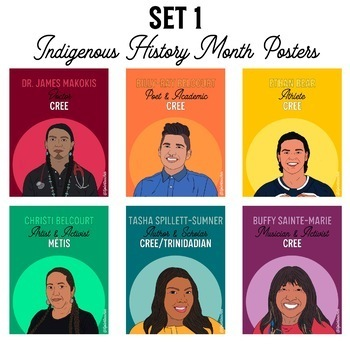Set 1 Indigenous History Month Posters
