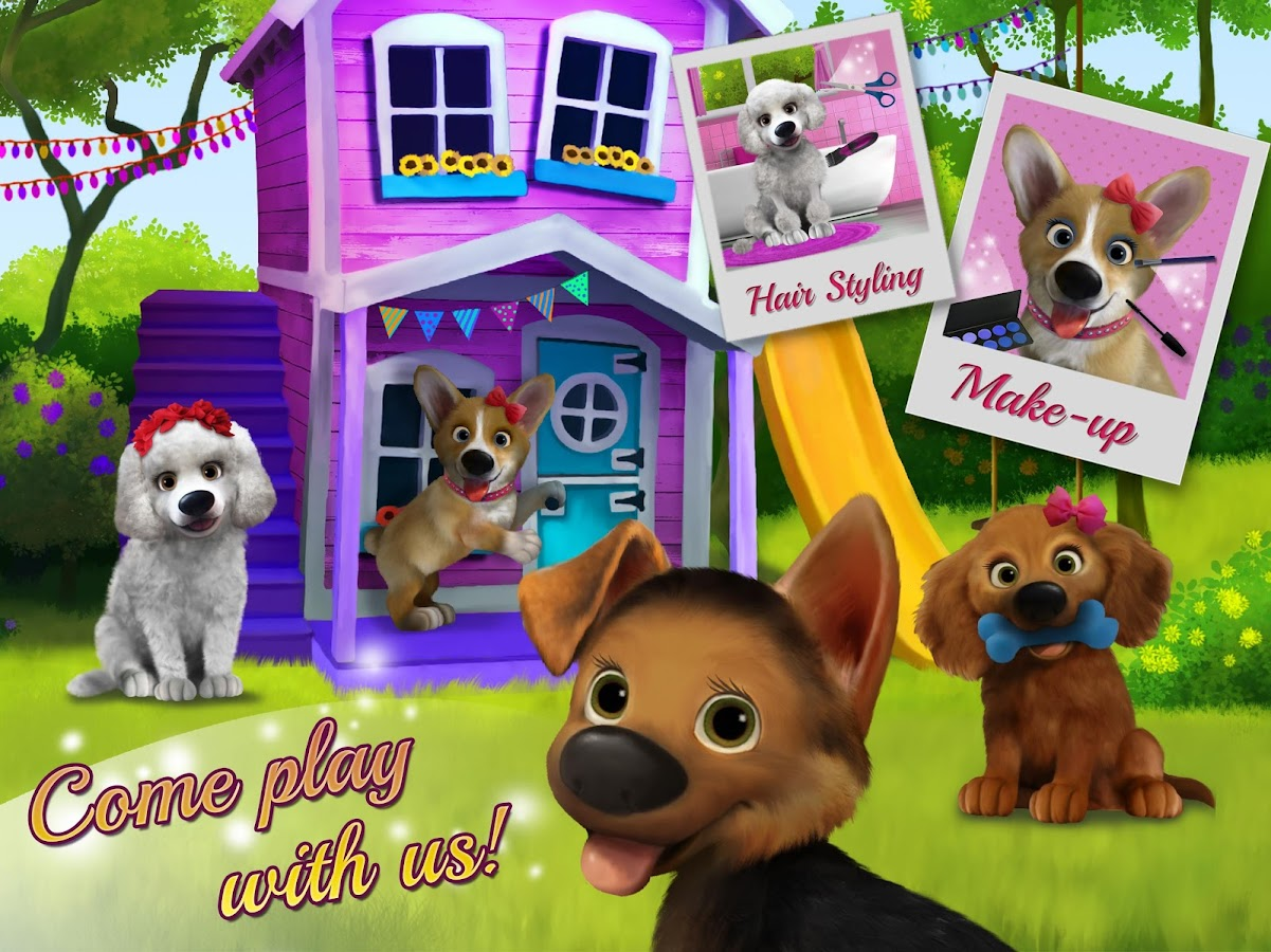 Puppy Dog Playhouse- screenshot