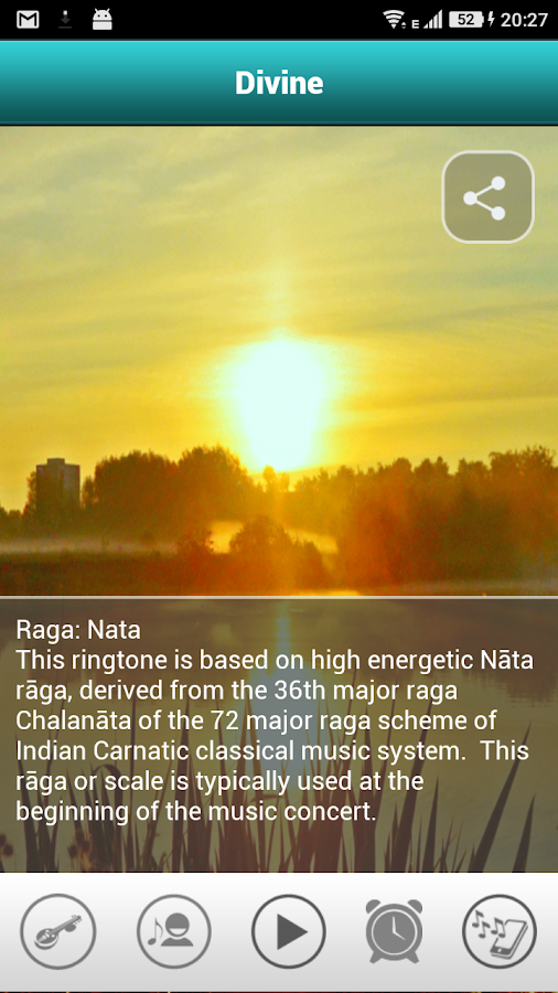 Indian Classical Ringtones- screenshot