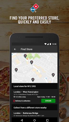 Domino's Pizza screenshot 1