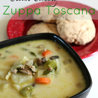 Clean Eating Zuppa Toscana