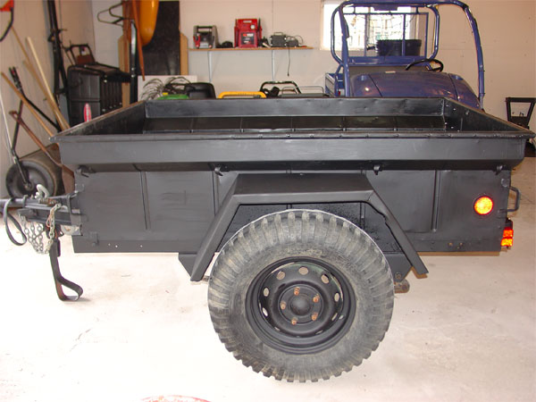 1/4 Ton military jeep trailer