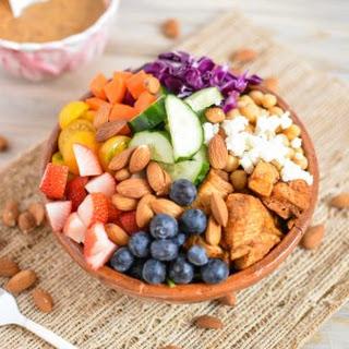 Chopped Chicken Salad with Cashew Honey Mustard Recipe