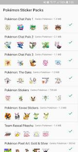 Pokémon Stickers for WhatsApp 1