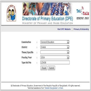 JSC PSC Exam Result (BD all exam Results) - náhled