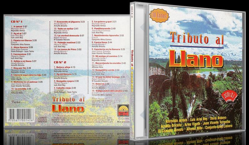 Varios Artistas - Tributo Al Llano (1999) [MP3 @320 Kbps]