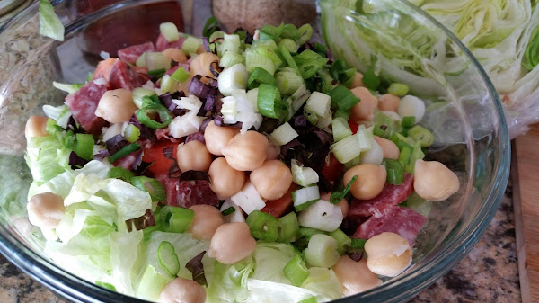 Chopped Salad (from Cucina, Cucina! Restaurant) Recipe