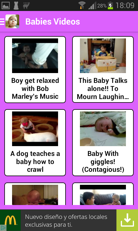 Baby Funny Videos for Whatsapp- screenshot