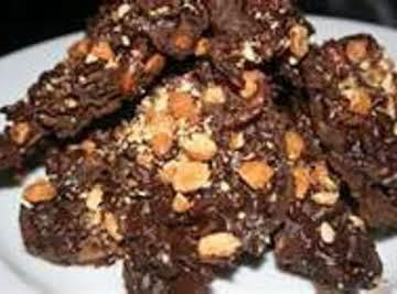 Crockpot Chocolate Fritos Candy