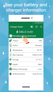 App Charger Tester - Charger Quality APK for Windows Phone
