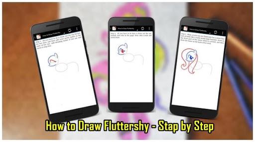 教育必備免費app推薦|How to Draw Fluttershy線上免付費app下載|3C達人阿輝的APP