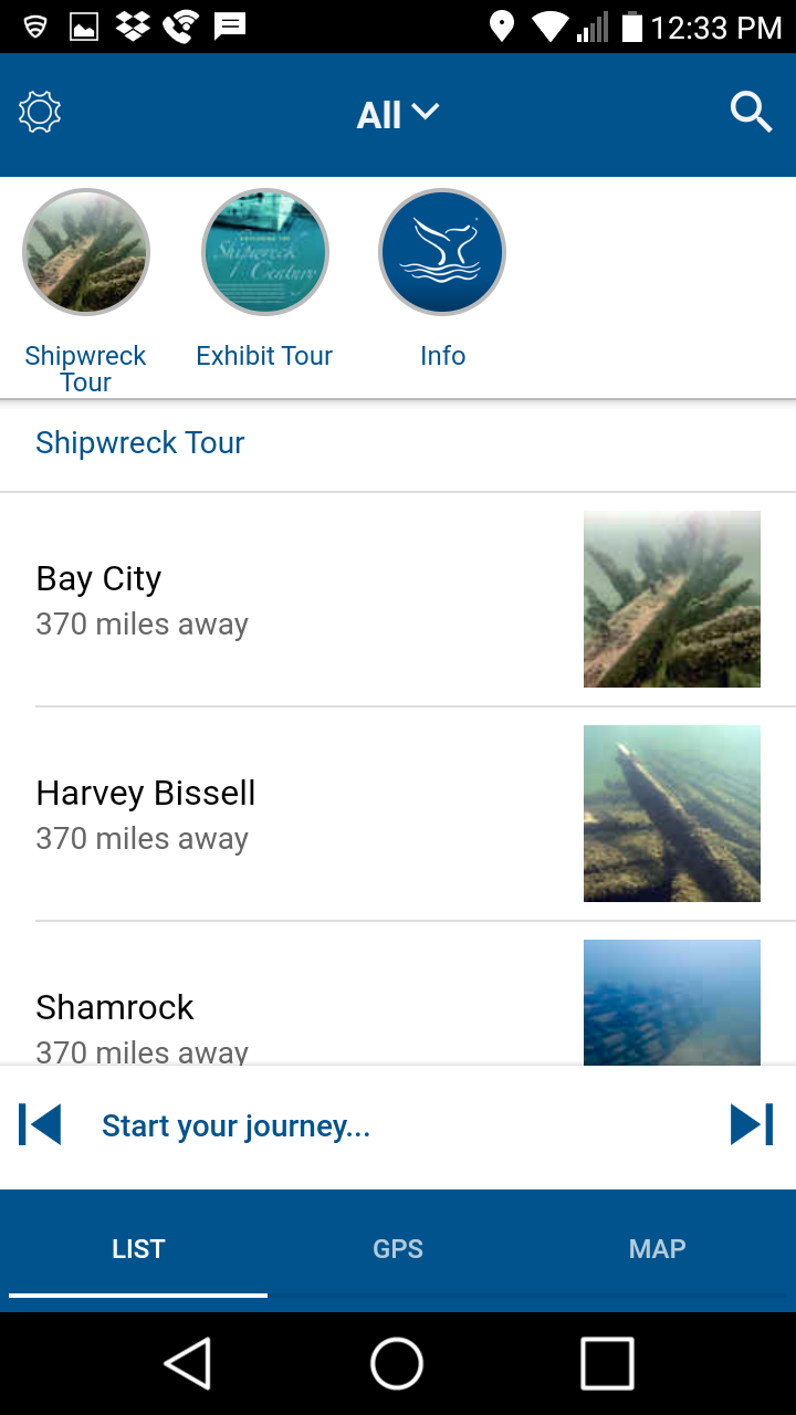 Скриншот Shipwreck Alley Tours