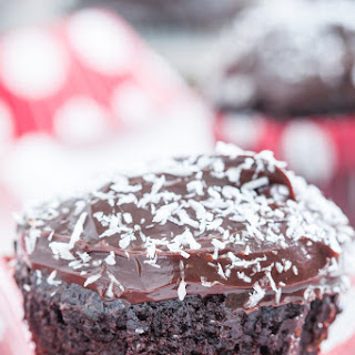 Chocolate Zucchini Cupcakes with Ganache Frosting