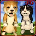 Dog Cat Stunts Simulator icon