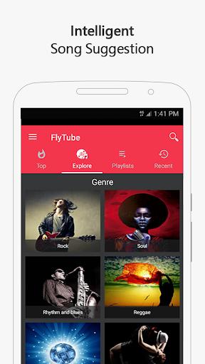 Free music for YouTube: MIXI 1.0.4 screenshots 3